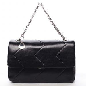 Dámská kabelka přes rameno černá – DIANA & CO Threethre černá
