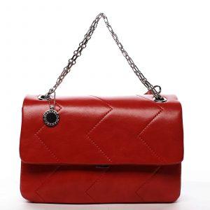 Dámská kabelka přes rameno červená – DIANA & CO Threethre červená