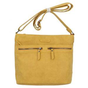 Dámská crossbody kabelka žlutá – Enrico Benetii Nymea žlutá