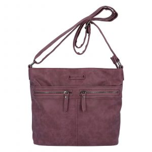 Dámská crossbody kabelka tmavě fialová – Enrico Benetii Nymea fialová