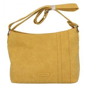 Dámská crossbody kabelka žlutá – Enrico Benetti Marina žlutá
