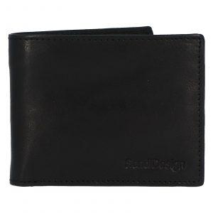 Pánská kožená peněženka černá – SendiDesign Boster černá