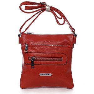 Dámská crossbody kabelka červená – Romina Chasing červená