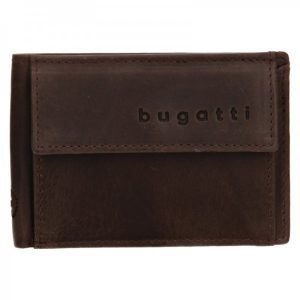 Pánská kožená dolarovka Bugatti Mauric – hnědá