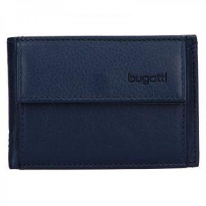 Pánská kožená dolarovka Bugatti Mauric – modrá