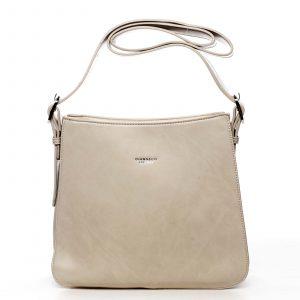 Dámská kabelka přes rameno béžová – DIANA & CO Jiansis béžová