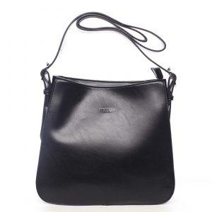 Dámská kabelka přes rameno černá – DIANA & CO Jiansis černá
