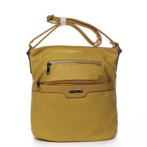 Dámská crossbody kabelka žlutá – Romina Elmina žlutá