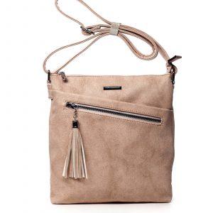 Dámská crossbody kabelky růžová – Silvia Rosa Isibambo růžová