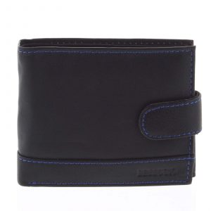 Pánská kožená peněženka černá – Bellugio Brys černá