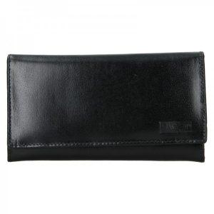 Dámská kožená peněženka Lagen Vera – černá