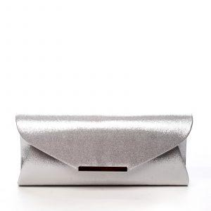 Dámské psaníčko stříbrné – Michelle Moon D378 stříbrná