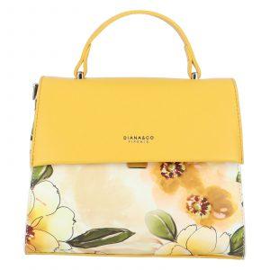 Dámská kabelka žlutá – DIANA & CO Blánica žlutá