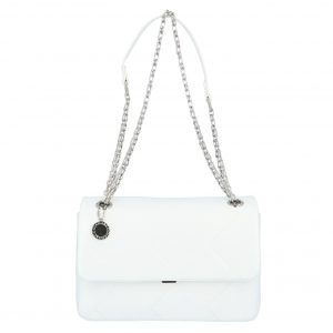 Dámská kabelka přes rameno bílá – DIANA & CO Threethre bílá