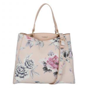 Dámská kabelka přes rameno pudrová – DIANA & CO Florentina pudrová