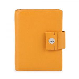 Maître Dámská kožená peněženka Henau Dawina 4060001631 – tmavě žlutá