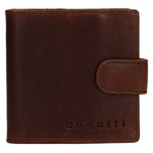 Pánská kožená peněženka Bugatti Magic – hnědá