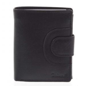 Pánská kožená peněženka černá – Delami Armando černá