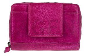 Lagen Dámská kožená peněženka 931-D Fuchsia