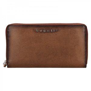 Dámská kožená peněženka Bugatti Erika – hnědá
