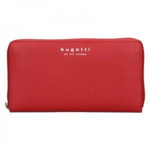 Dámská kožená peněženka Bugatti Ruth – červená