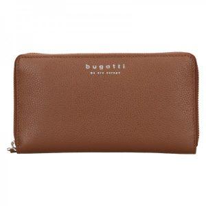 Dámská kožená peněženka Bugatti Ruth – hnědá
