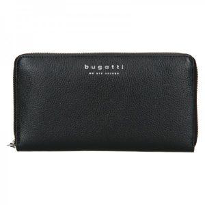 Dámská kožená peněženka Bugatti Ruth – černá