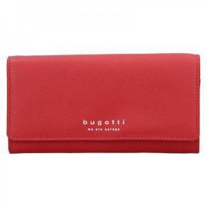 Dámská kožená peněženka Bugatti Enke – červená