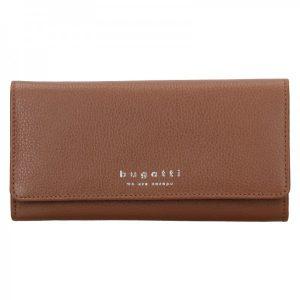 Dámská kožená peněženka Bugatti Enke – hnědá