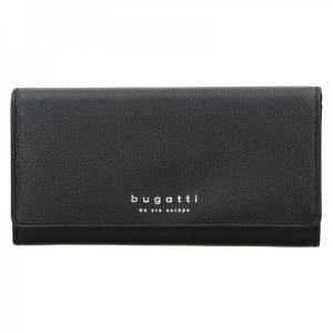 Dámská kožená peněženka Bugatti Enke – černá