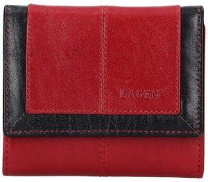 Lagen Dámská kožená peněženka BLC-4391 Red/BLK