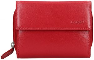 Lagen Dámská kožená peněženka 932/B Red