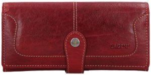 Lagen Dámská kožená peněženka 7545/T Red
