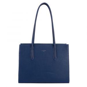 David Jones Paris Dámská kabelka přes rameno 6253-2 – modrá