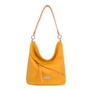 David Jones Paris Dámská kabelka přes rameno 6265-1 – žlutá