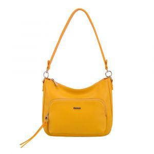 David Jones Paris Dámská kabelka přes rameno 6299-2 – žlutá