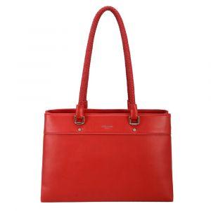 David Jones Paris Dámská kabelka přes rameno 6314-2 – červená