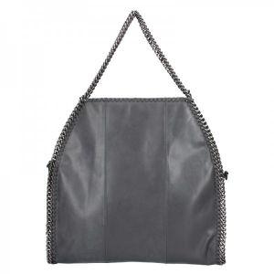 Extravagantní kožená kabelka Pierre Cardin Silva – černá