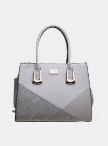 Bessie London šedá kabelka