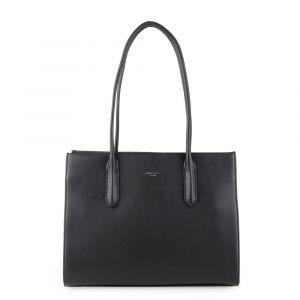 David Jones Paris Dámská kabelka přes rameno 6253-2 – černá