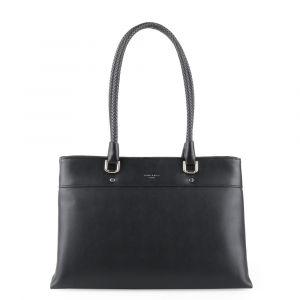 David Jones Paris Dámská kabelka přes rameno 6314-2 – černá
