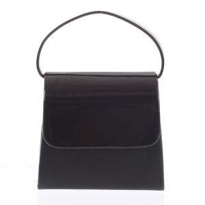 Luxusní dámské psaníčko/kabelka černé – Delami Viseria černá