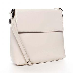 Dámská crossbody kabelka bílá – DIANA & CO Buzzy bílá
