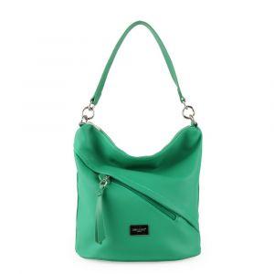 David Jones Paris Dámská kabelka přes rameno 6265-1 – zelená
