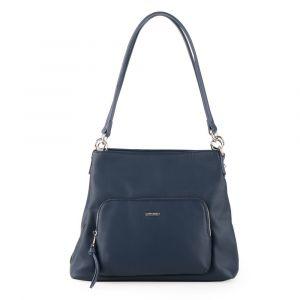 David Jones Paris Dámská kabelka přes rameno 6299-3 – tmavě modrá