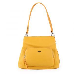 David Jones Paris Dámská kabelka přes rameno 6299-3 – žlutá
