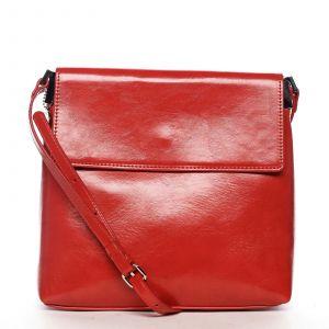 Dámská crossbody kabelka červená – DIANA & CO Buzzy červená