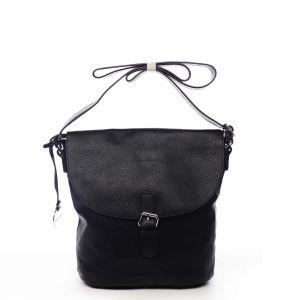 Dámská kabelka přes rameno černá – DIANA & CO Leilla černá