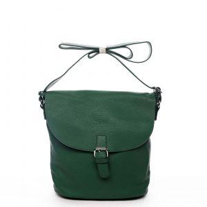 Dámská kabelka přes rameno zelená – DIANA & CO Leilla zelená