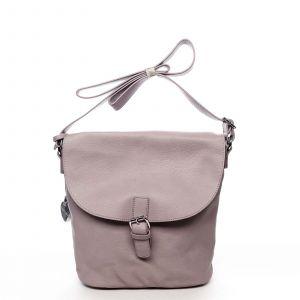 Dámská kabelka přes rameno světle fialová – DIANA & CO Leilla fialová